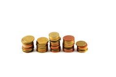 A moeda tailandesa do dinheiro Fotografia de Stock