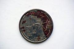 Moeda ` Texas de Washington Quarter do ` de 1/4 de dólar fotografia de stock