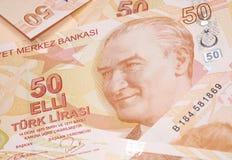 Moeda turca Imagem de Stock Royalty Free