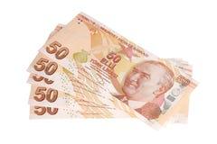 Moeda turca Imagens de Stock