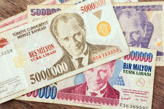 Moeda turca Fotos de Stock