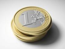 moedas Ilustração Royalty Free