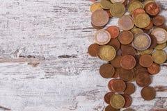 moedas ilustração do vetor