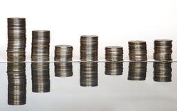 moedas Imagens de Stock Royalty Free