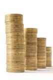 moedas foto de stock royalty free