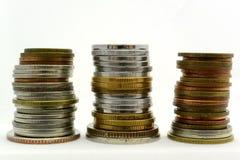moedas Fotografia de Stock Royalty Free