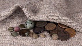 moedas Imagem de Stock