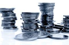 moedas Fotografia de Stock