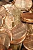 Moedas de um centavo 2 Imagem de Stock