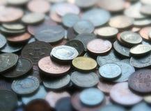 Moedas de um centavo Foto de Stock