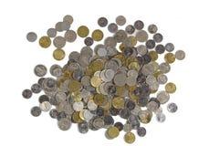 Moedas do conceito do dinheiro Foto de Stock Royalty Free