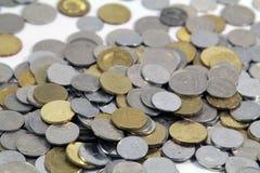 Moedas do conceito do dinheiro Imagem de Stock