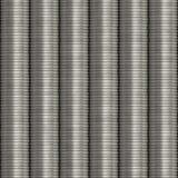 Moedas empilhadas prata Foto de Stock