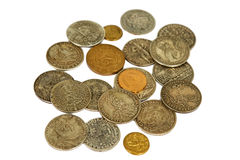 Moedas medievais Fotografia de Stock