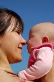 Moeder en baby #13 Stock Fotografie