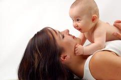 Moeder en baby #13 Royalty-vrije Stock Afbeeldingen