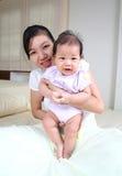 Moeder en baby 5 Royalty-vrije Stock Fotografie