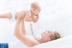 Moeder en Baby Stock Fotografie