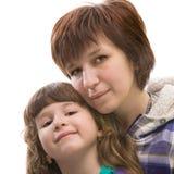 Moeder en daugther Royalty-vrije Stock Fotografie