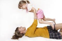 Moeder en de dochter Royalty-vrije Stock Foto's