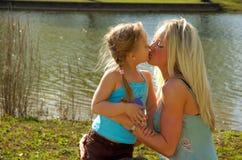 Moeder en Dochter 1 Stock Afbeelding