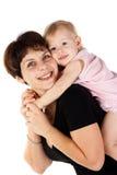 Moeder en dochter Stock Afbeeldingen