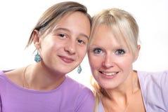 moeder en dochter Royalty-vrije Stock Afbeelding