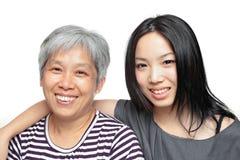 Moeder en dochter Stock Foto's