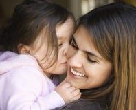 Moeder en dochter. royalty-vrije stock afbeelding