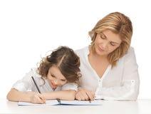 Moeder en dochter Stock Afbeelding