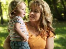 Moeder en dochter. royalty-vrije stock foto's