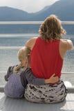 Moeder en dochter Royalty-vrije Stock Foto's