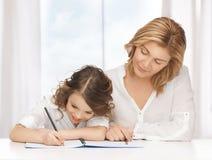 Moeder en dochter Royalty-vrije Stock Afbeeldingen