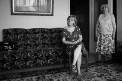 Moeder en dochter Royalty-vrije Stock Fotografie