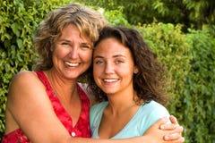 Moeder en dochter stock foto