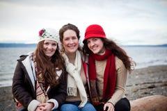 Moeder en dochters royalty-vrije stock fotografie