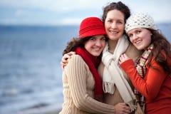Moeder en dochters Royalty-vrije Stock Foto