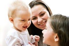 Moeder en dochters Royalty-vrije Stock Afbeelding