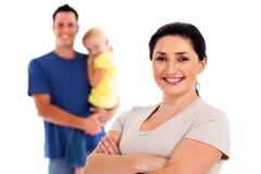 Moeder en familie Stock Foto