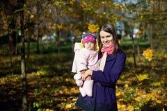 Moeder en haar kind Stock Foto