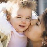 Moeder en kind. stock fotografie