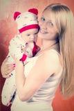 Moeder en kind Royalty-vrije Stock Foto's