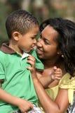 Moeder en Kind Stock Foto