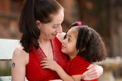 Moeder en kinderen Royalty-vrije Stock Foto's