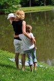 Moeder en Kinderen royalty-vrije stock afbeeldingen