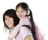 Moeder en me royalty-vrije stock foto's