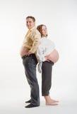 Moeder en vader Stock Foto's