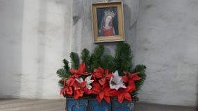 Moeder Mary Close Vienna, Oostenrijk Stock Foto