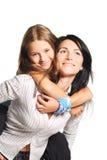 Moeder met dochter Royalty-vrije Stock Foto's