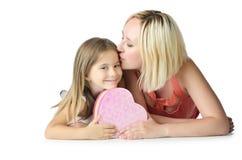 Moeder met dochter Royalty-vrije Stock Fotografie